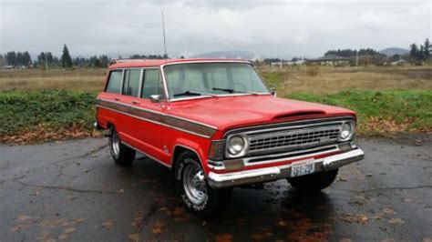 1970 Jeep Wagoneer For Sale Purchase Used 1970 Jeep Wagoneer 4x4 Awsome In Vancouver