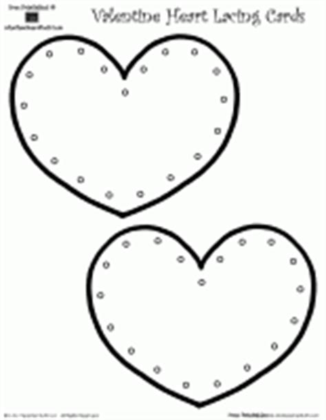 Free Printable Lacing Card Templates by Fill In The Missing Number 1 To 30 Hearts For S