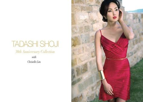 Bj Sabrina By Lim Shop Coll by Chriselle Lim For Tadashi Shoji S 30th Anniversary
