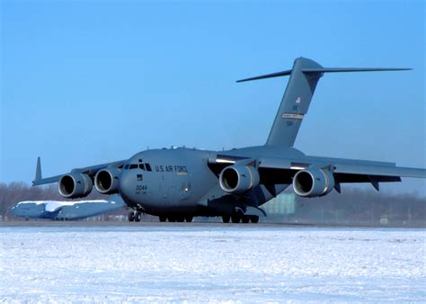 by order of the commander wright patterson air force base file 445th airlift wing boeing c 17a lot ix globemaster