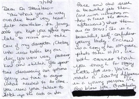 Grateful Patient Letter Sle Our Testimonials
