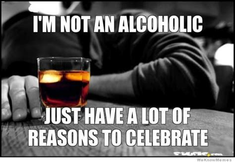 Alcohol Memes - i m not an alcoholic weknowmemes
