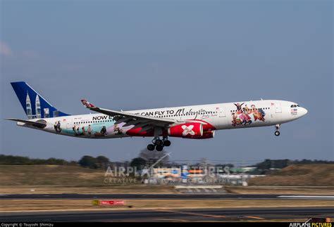 9m xxf airasia x airbus a330 300 at tokyo haneda intl 9m xxf airasia x airbus a330 300 at tokyo narita intl