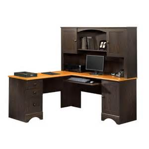 Computer Help Desk Indianapolis Harbor View Hutch By Sauder