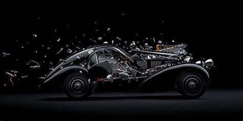 designboom fabian oefner fabian oefner explodes iconic sports cars using thousands
