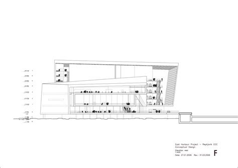 Floor Plan Elevation gallery of harpa concert hall and conference centre