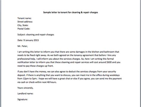 Rent Increase Dispute Letter Sle Letter Disputing Bank Charges Sle Letter To Tenant For Cleaning Repair Charges Smart