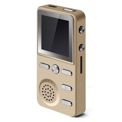 mp3 mp4 players kelima 1 4 quot screen 8gb player mp3 with alarm clock golden was listed