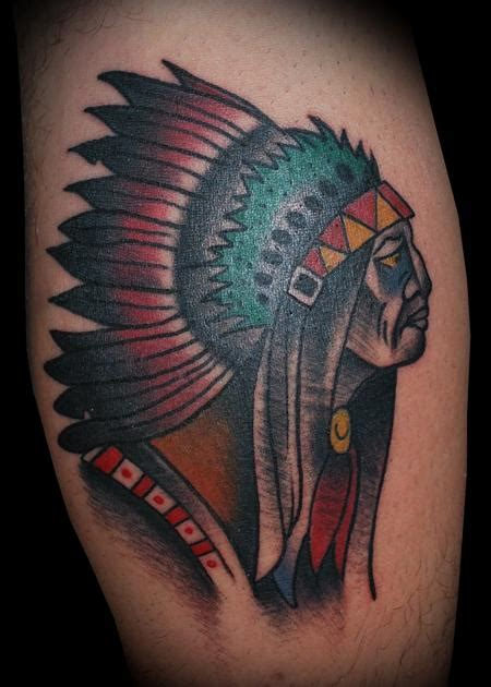 indian chief tattoo the map adam lauricella tattoos page 3