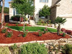 a yard of front yard landscaping ideas