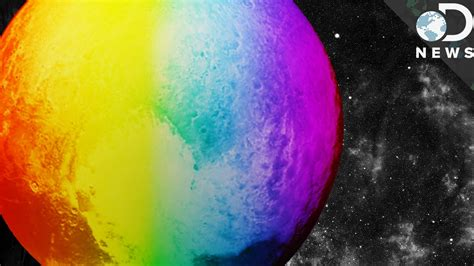 pluto color do you what color pluto really is