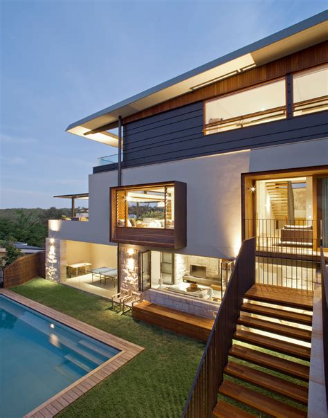 home design lover website contemporary home in an exposed corner site in sydney