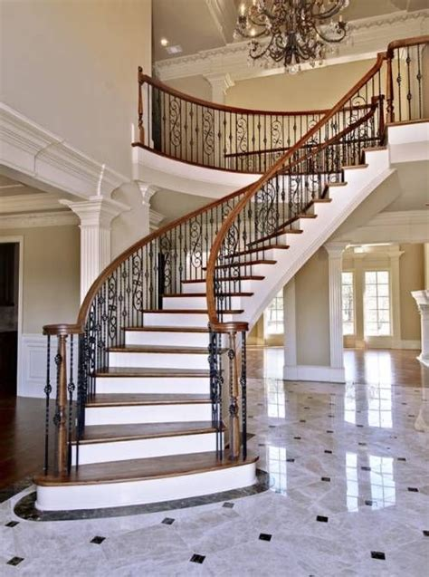 fancy staircase 25 best ideas about curved staircase on pinterest grand