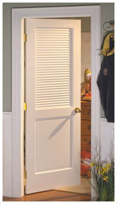 Vented Interior Door by Plantation Louvered Closet Doors