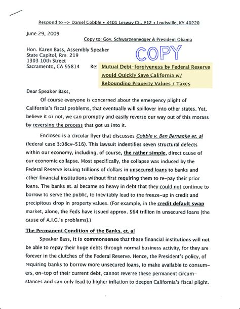 Cancellation Letter Debt Review 28 Cancellation Debt Letter Zoellick Misled Struck Haitians Debt Cancellation