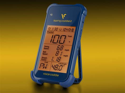 golf swing monitor reviews voice caddie sc200 launch monitor