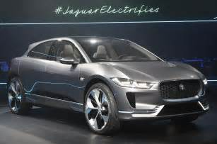 Electric Cars 2018 Suv 2018 Jaguar I Pace Electric Suv Revealed Plus Exclusive