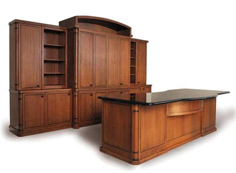wooden wall cabinets design office furniture