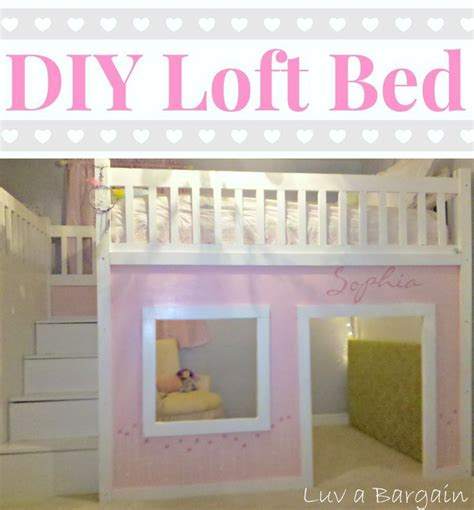playhouse loft bed with stairs how to build a loft bed playhouses lofts and storage