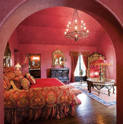 themes in the house behind the cedars pink moroccan themed bedroom at the cedars an iconic