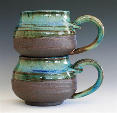 Handmade Ceramic Coffee Cups - pair of coffee mugs handmade ceramic cups ceramic
