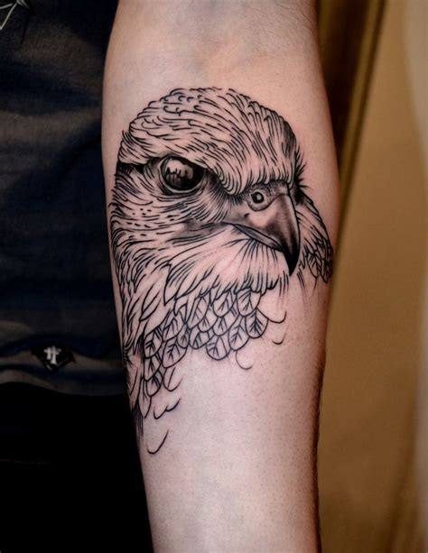 bird arm tattoo the 25 best falcon ideas on hawk