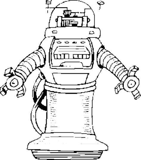robot cat coloring page robot 3 coloring page