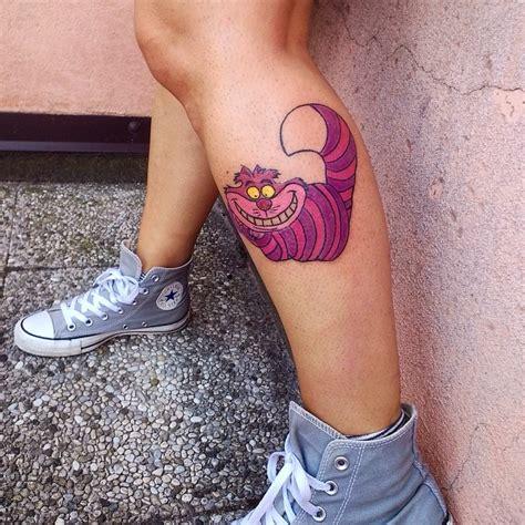glow in the dark tattoo cheshire cat 35 fairy alice in wonderland tattoo designs ideas