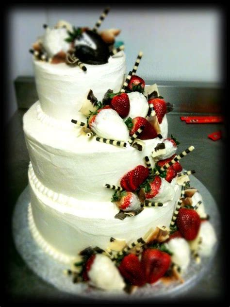 Hochzeitstorte Erdbeer Strawberry Wedding Cake My Sweet Enchantments