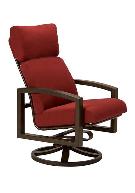Lakeside Cushion Swivel Rocker High Back Hauser S Patio High Back Swivel Patio Chairs