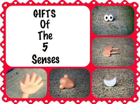 bolling with 5 gifts of the 5 senses