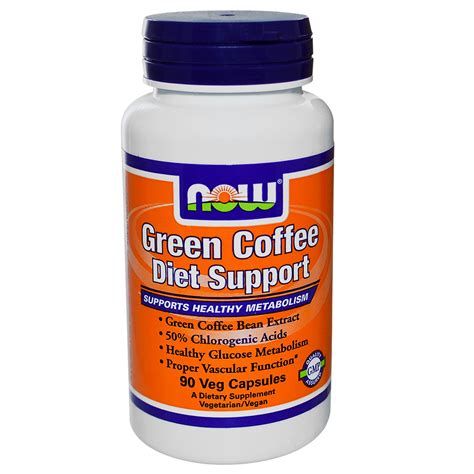 Green Coffee Diet by Now Foods Green Coffee Diet Support 90 Veggie Caps