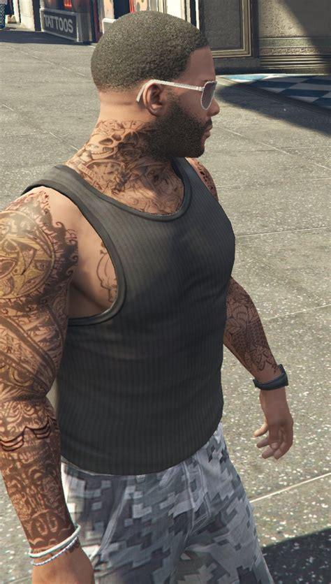 gta tattoos gta 5 tattoos for franklin 0 3 mod gtainside
