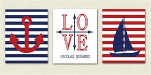 nautical theme items similar to set of three 11 x 14 nautical prints