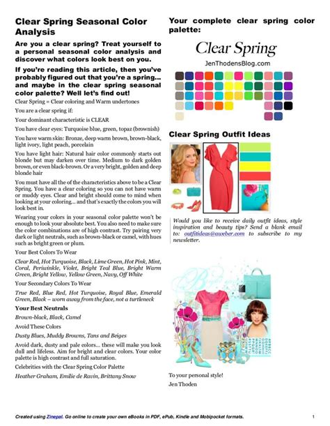 1000 ideas about clear spring on pinterest color me spring seasonal color analysis clear spring seasonal color