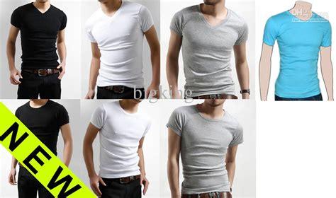 Shorto Top Slim Fitting Diskon new s slim fit v neck t shirt sleeve