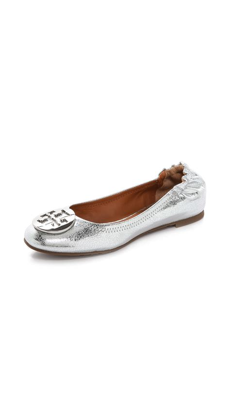 Trend Report Burch Reva Flats Are Going To Be This Second City Style Fashion by Burch Reva Mirror Crackle Ballet Flats Goldgold In