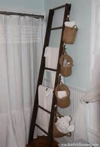 Bathroom Towel Rack Ideas ladder towel racks on pinterest