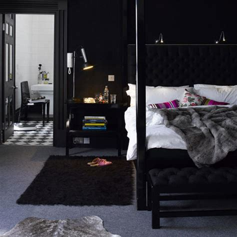 dark walls bedroom wonderful bedroom decor ideas in black and white home design