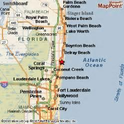where is boca raton on the florida map boca raton florida