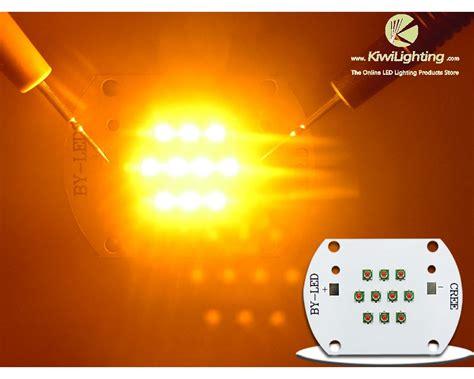 Emitter Led Cree Xpe Yellow high power 30w cree xl xpe xp e yellow 590nm led emitter light 24 26v 1000ma kiwi lighting
