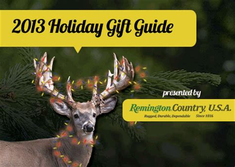 Gift Ideas For Deer Hunters - 2013 gift guide for hunters gifts