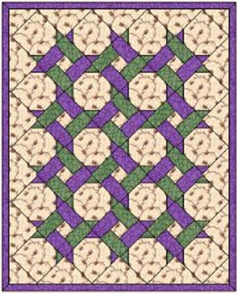 pattern is also known as twisted frenzy quilt pattern also known as garden twist