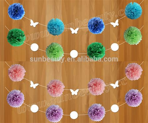 How To Make Hanging Tissue Paper Flowers - 92 how to make paper flower balls for wedding diy