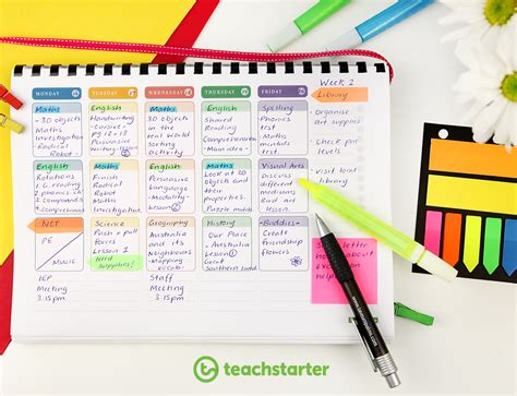 teacher diary template create your own planner using printable templates