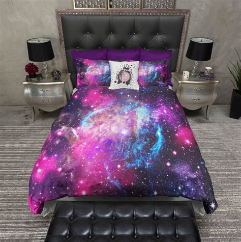 galaxy bedding lightweight galaxy bedding cosmos duvet cover by inkandrags