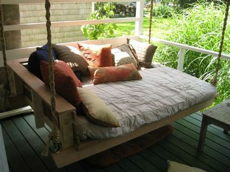 outdoor porch bed swing dishfunctional designs this ain t yer grandma s porch