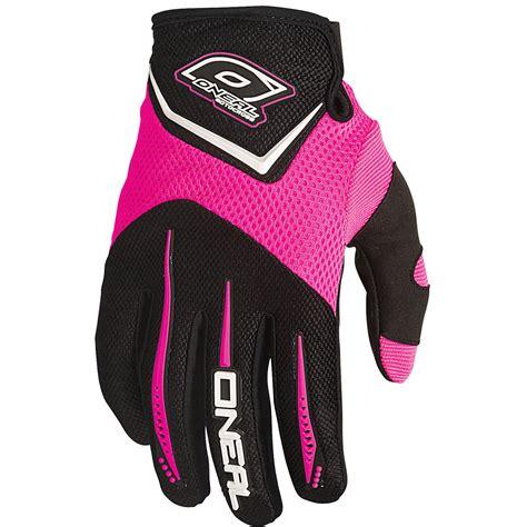 kids motocross gloves oneal mx gear 2016 element pink youth motocross bmx dirt