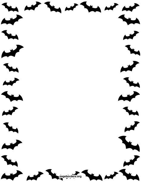 printable bat stationary dog bone border clipart clipart panda free clipart images