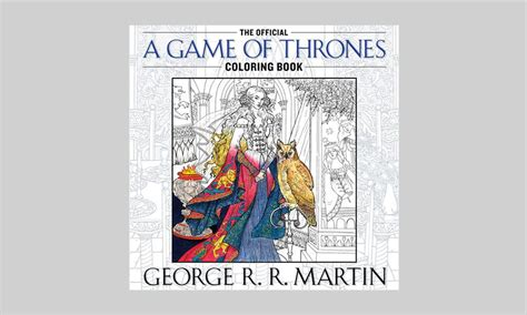 books a million of thrones coloring book the official of thrones coloring book cool material